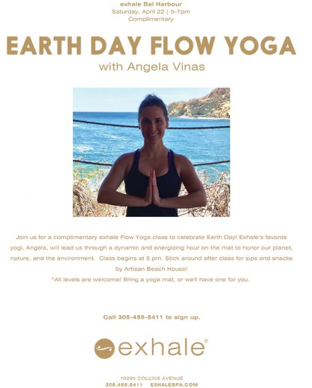 Earth Day Flow Yoga